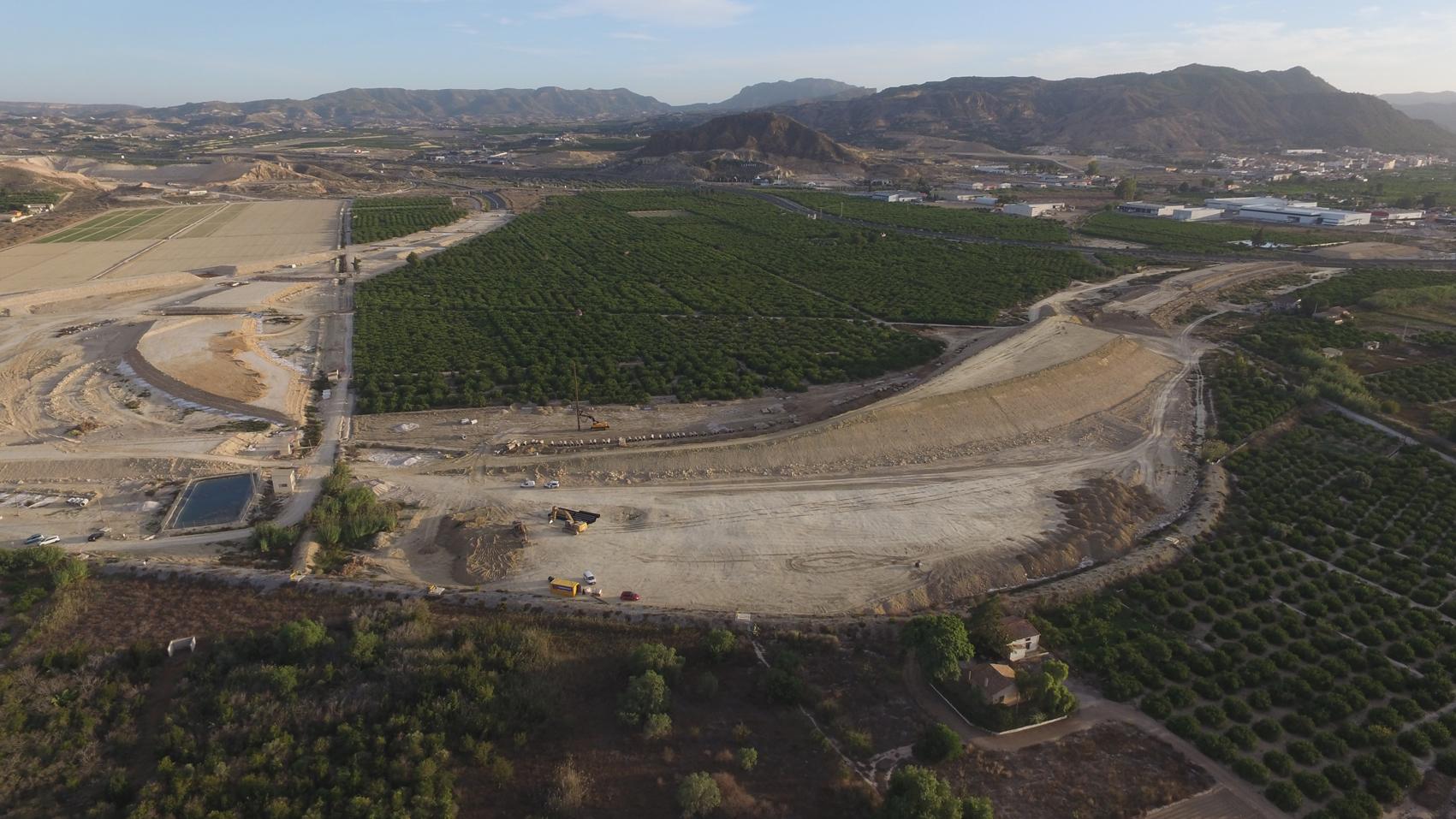 Boquera de Tabala. Nudo autovía del Reguerón. Imagen cedida por Huerta Viva