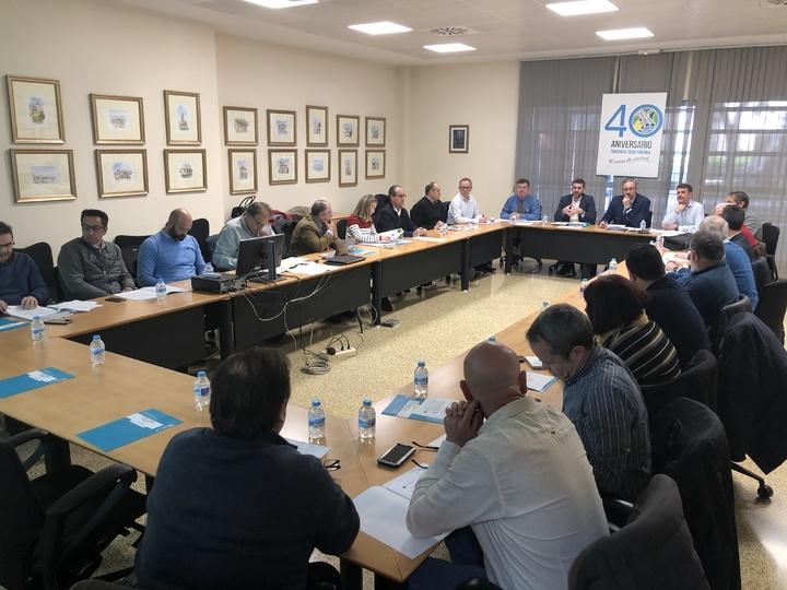 Reunión del Carma del pasado febrero. Imagen: CARM