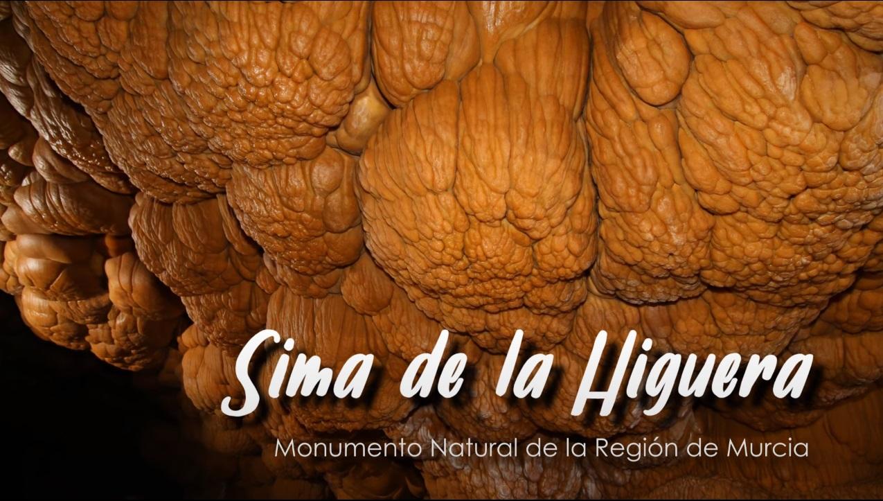Carátula de la pieza audiovisual sobre la Sima de la Higuera producida por la Fundación Integra. Imagen: CARM