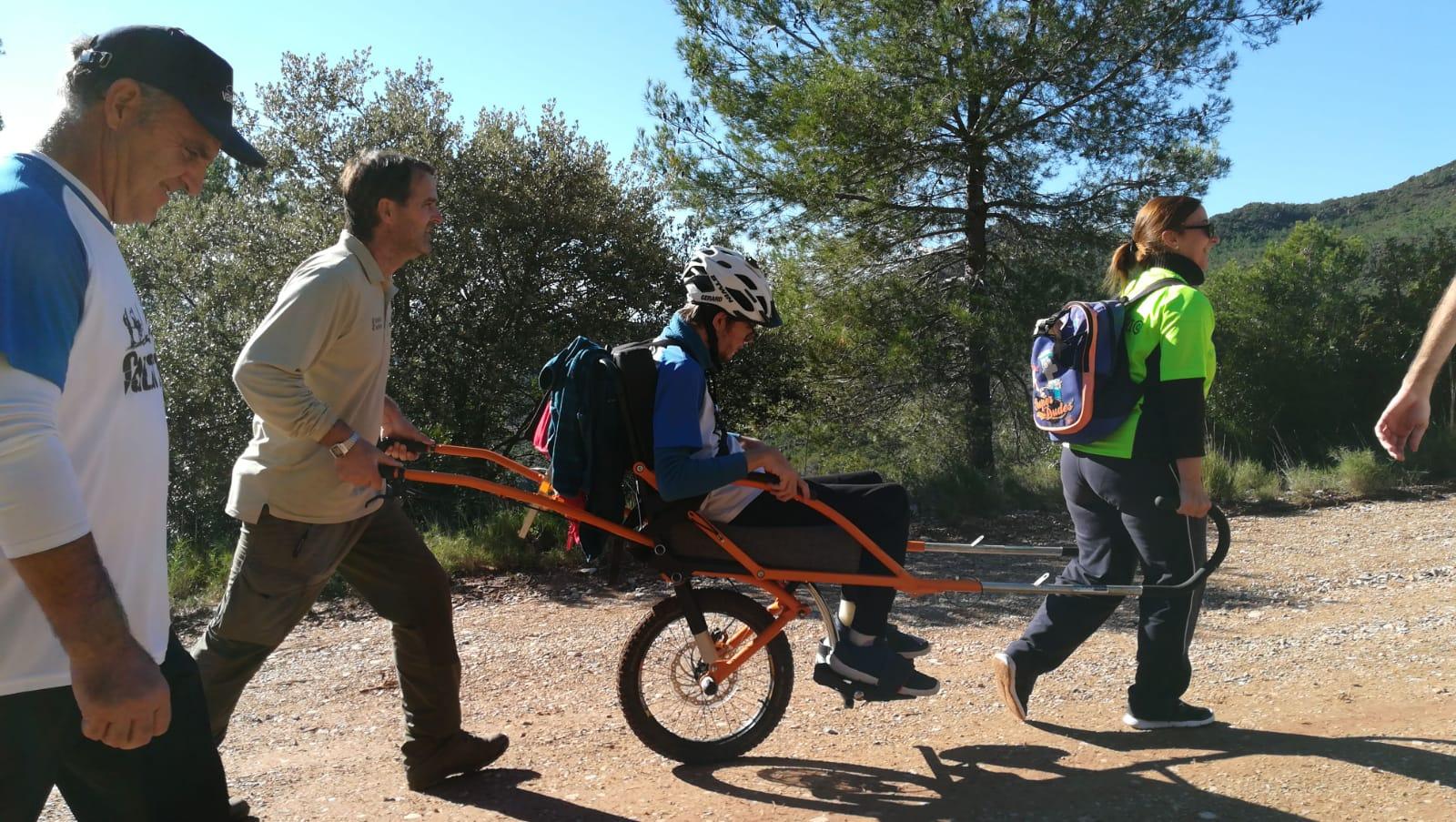 Arrancan los cursos de formación para mejorar la accesibilidad de personas con diversidad funcional a los parques naturales de la Comunitat Valenciana. Imagen: GV