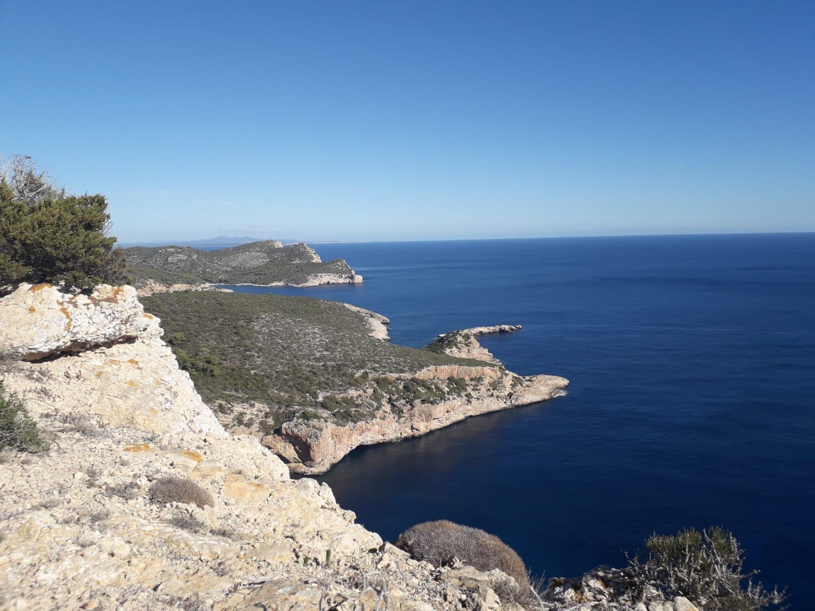 Parte de la costa del Parque Nacional del Archipiélago de Cabrera. Imagen: Miteco