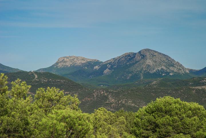 Paisaje forestal de Sierra Espuña. Imagen: CARM
