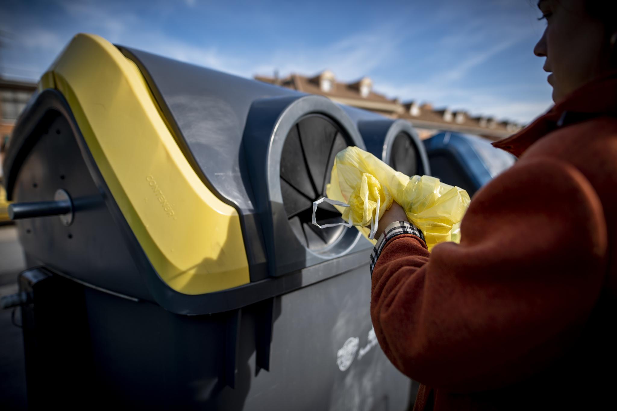 En total se entregaron 47.651 toneladas de desechos a instalaciones de reciclaje procedentes de contenedores, recogidas y plantas de residuos municipales. Imagen: CARM