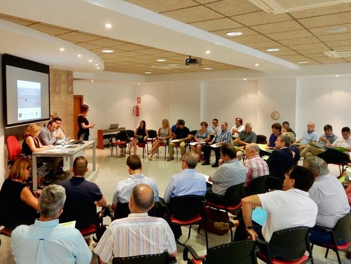 Imagen de archivo de la la segunda reunión del Comité de Participación Social del Mar Menor. Imagen: CARM