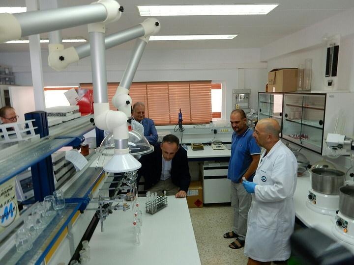 Imágenes de la visita del consejero de Turismo, Cultura y Medio Ambiente, Javier Celdrán, al Centro Oceanográfico de Murcia del Instituto Español de Oceanografía. Imagen: CARM
