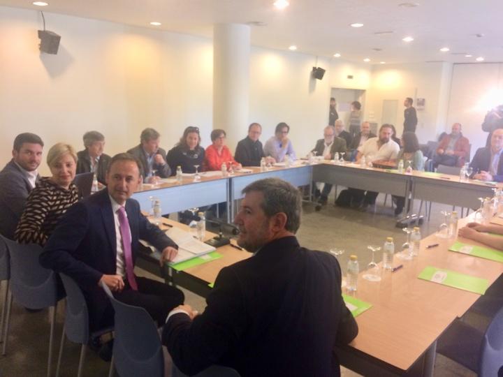 Celebración del Consejo Asesor Regional de Medio Ambiente, el pasado día 10 de abril. Imagen: CARM