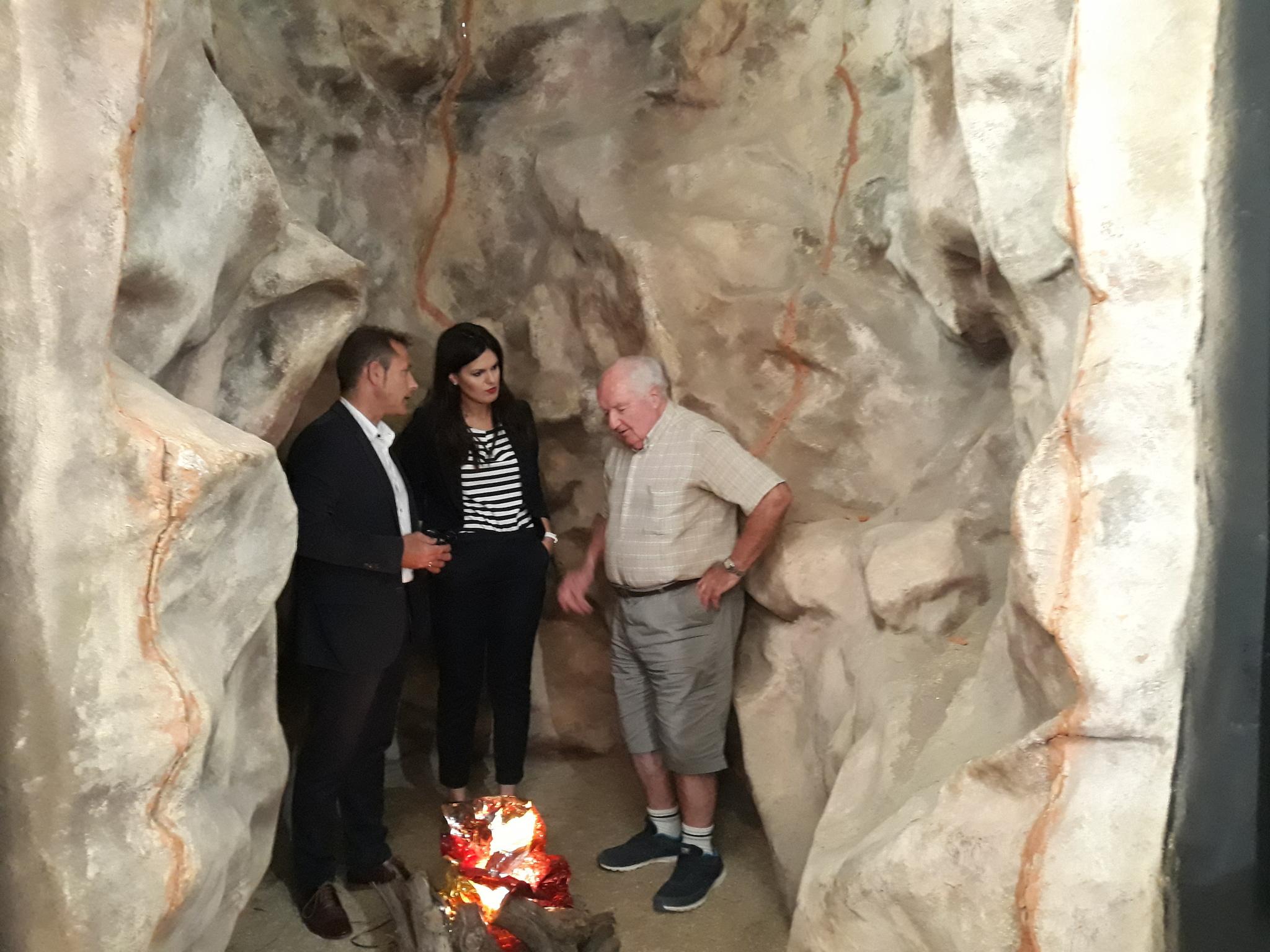 Presentación de los hallazgos de las excavaciones de la 'Sima de las Palomas del Cabezo Gordo'. Imagen: CARM