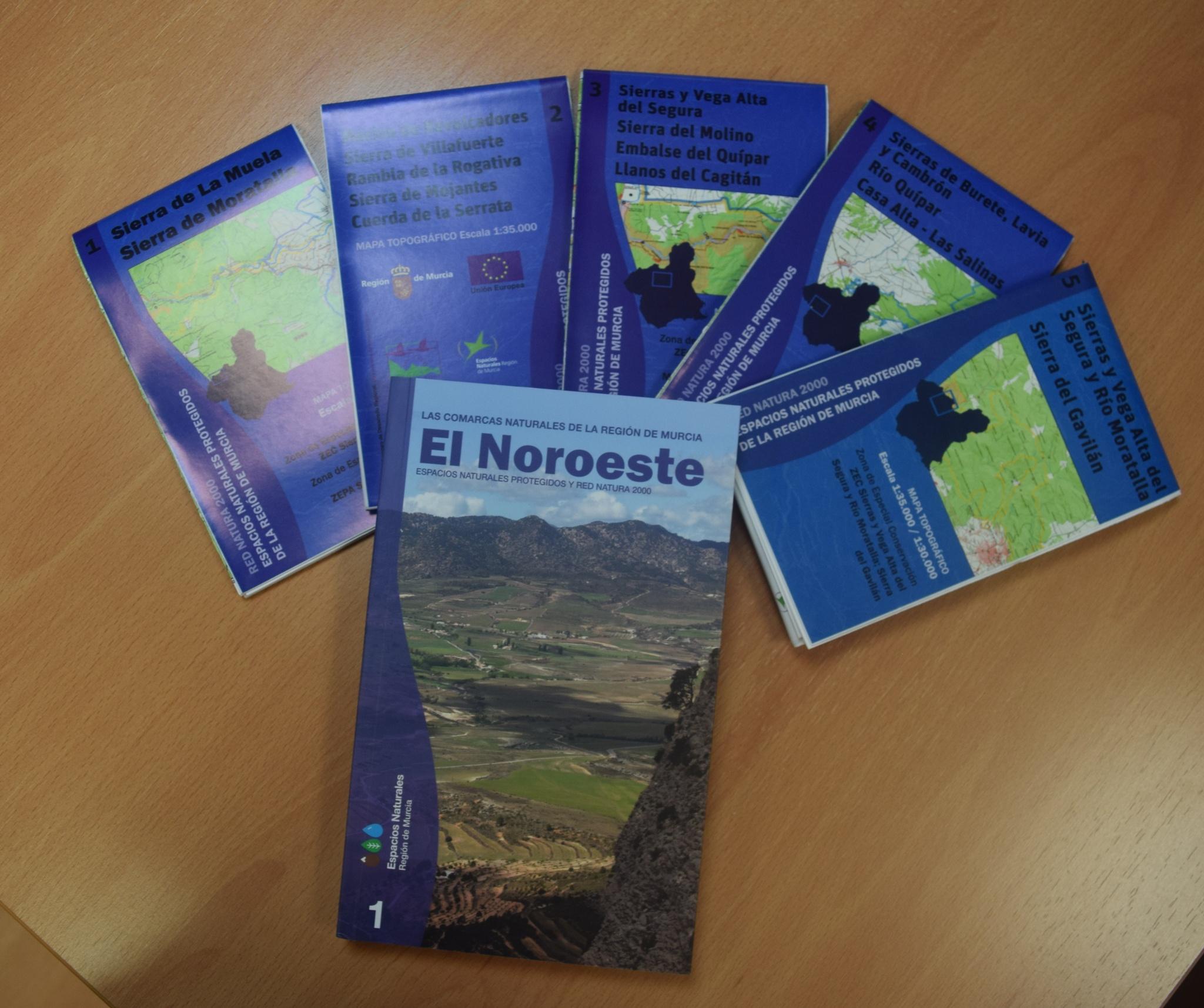 'Guía de los Espacios Protegidos de la Red Natura 2000 de la Comarca del Noroeste'. Imagen: CARM