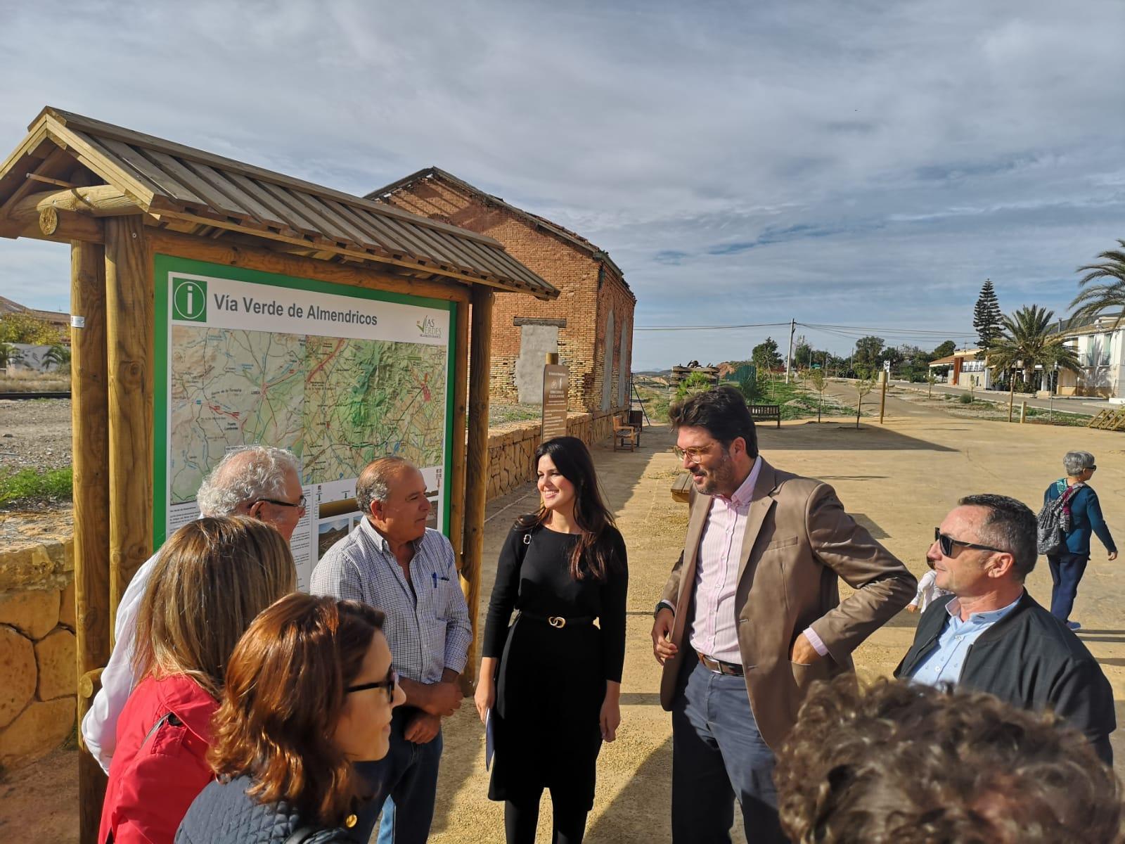 Inauguración de la Vía Verde de Almendricos. Imagen: CARM