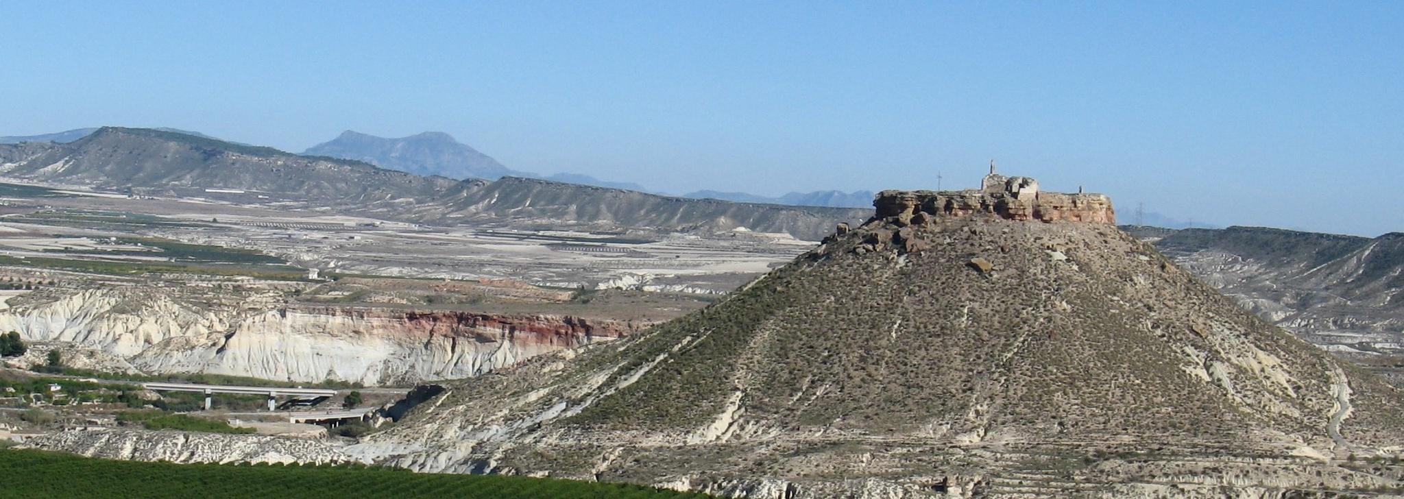 Uno de los Lugares de Interés Geológico de la Región. Imagen CARM