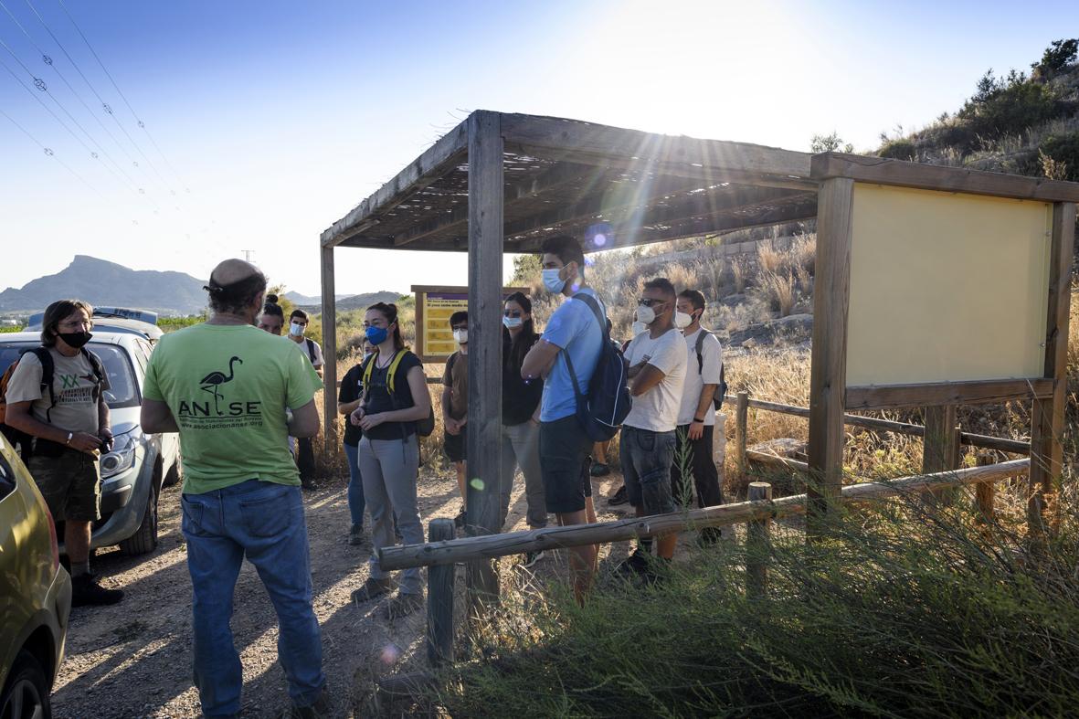 La participación de los voluntarios ha sido fundamental para el seguimiento. Imagen: Joaquín Zamora