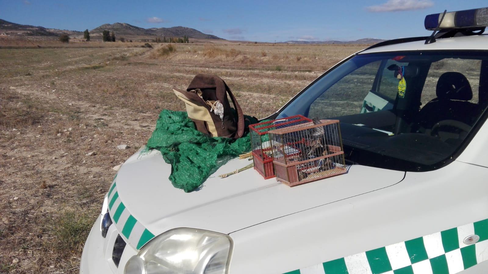 Imagen: Agentes medioambientales de la Región de Murcia
