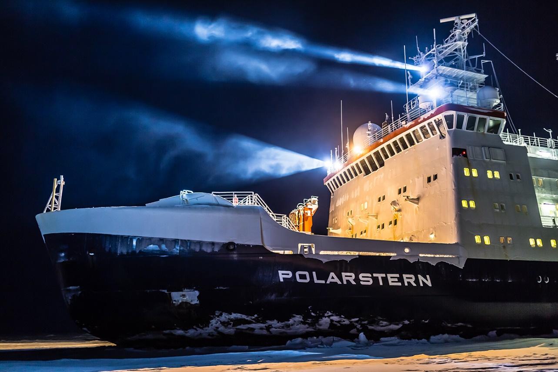 El rompehielos alemán Polarstern, que transporta a la expedición Mosaic. Imagen: Instituto Alfred Wegener/CSIC