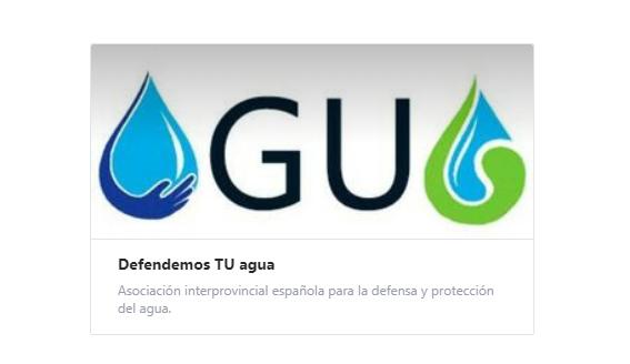Logo de la nueva asociación 'Defendemos TU agua'