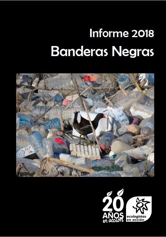 Portada del informe Banderas Negras 2018