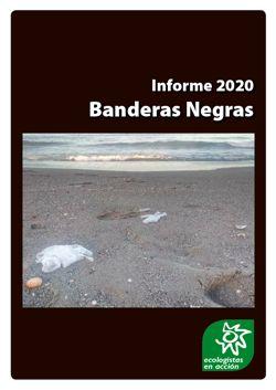 Portada del informe 'Banderas Negras 2020'. Imagen: Ecologistas en Acción