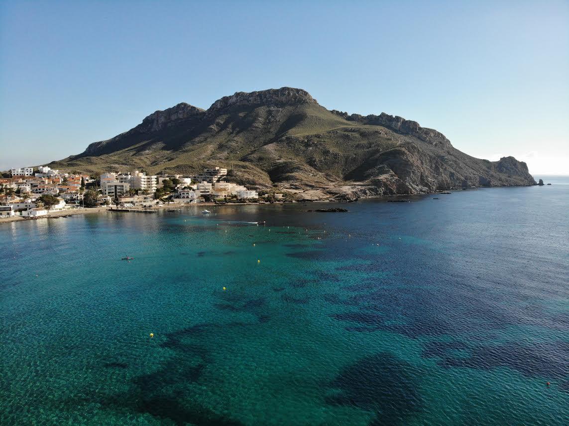 Vista de la montaña de Cope desde Calabardina. Imagen: V. García/ANSE