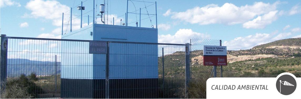 Una Estación de Vigilancia y Control de la Calidad del Aire. Imagen: CV