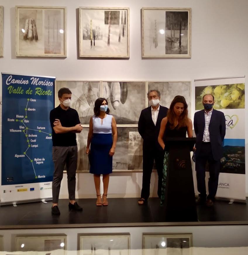 Inicio de la presentación del Camino Morisco, en la Fundación Pedro Cano, de Blanca. Imagen: Ruralmur
