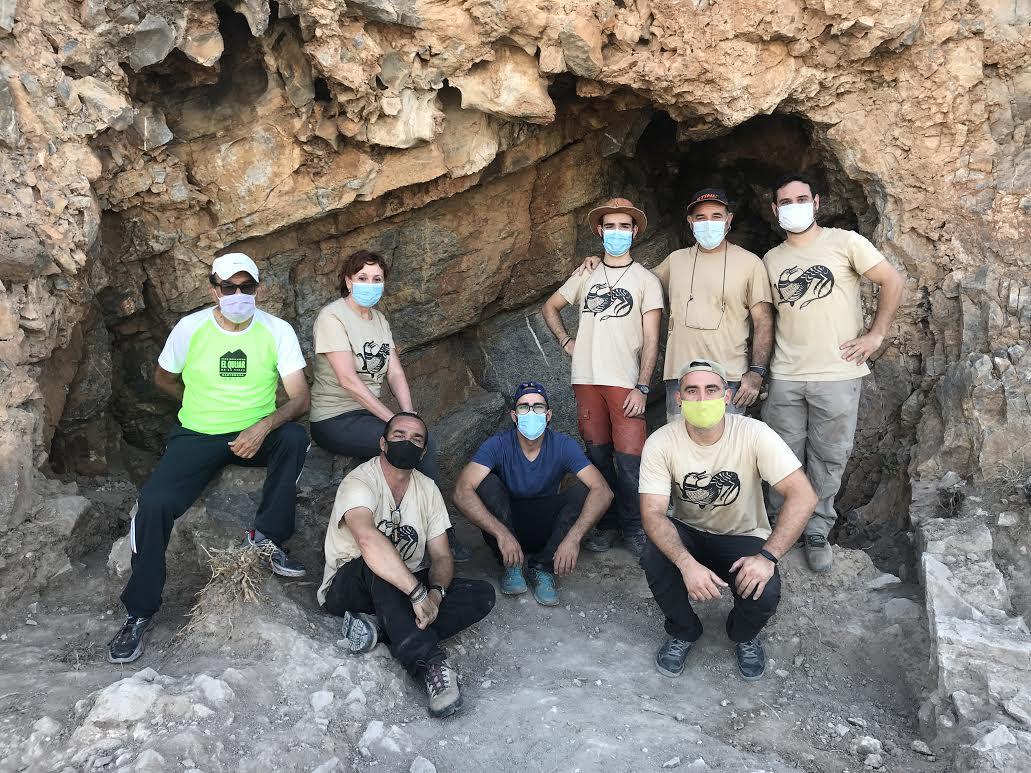 El equipo de investigadores que han participado en esta campaña de excavación arqueológica en el poblado de Balumba (Santomera)