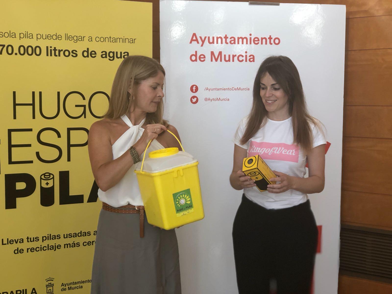 Un momento de la presentación de la campaña 'Espapila'. Imagen: Ayto. de Murcia.