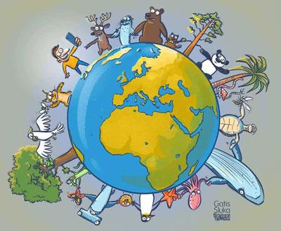 Campaña #UnidosporlaBiodiversidad. Imagen: MNCN