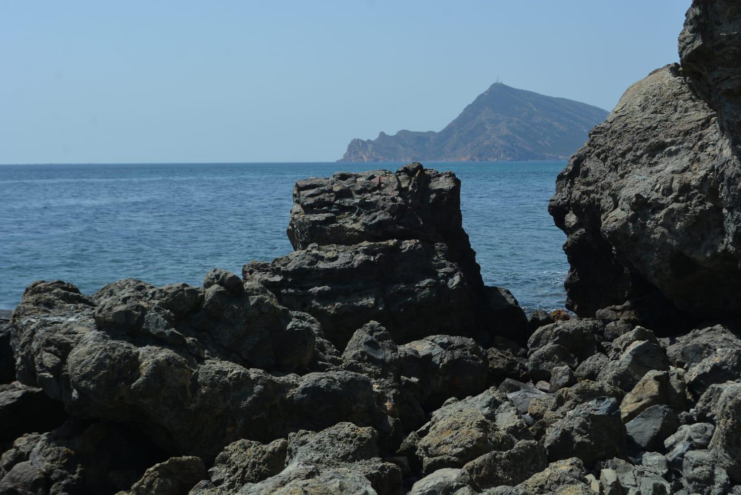 Playa Fósil del Cap Negret de Altea. Imagen: GV