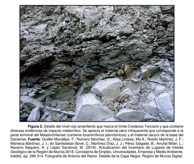 Fotografía incluida en el informe de propuesta. Imagen: CARM