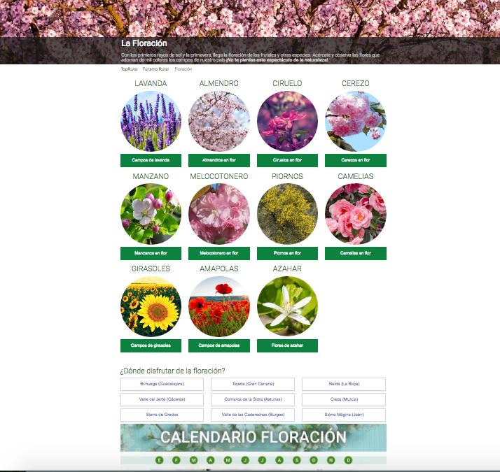 Captura de la web Toprural