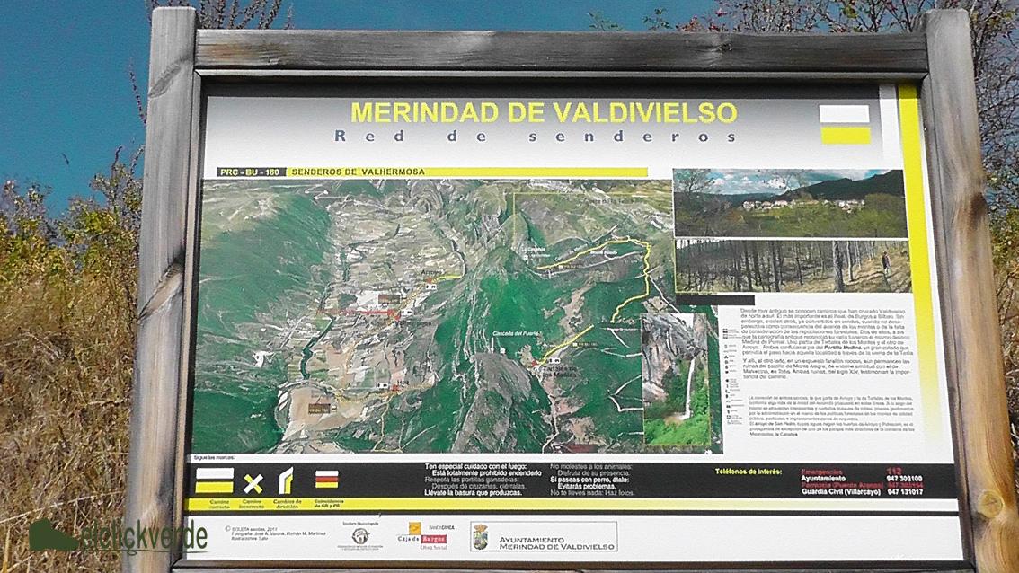 Foto: en toda la zona hay abundante información sobre las pistas y senderos