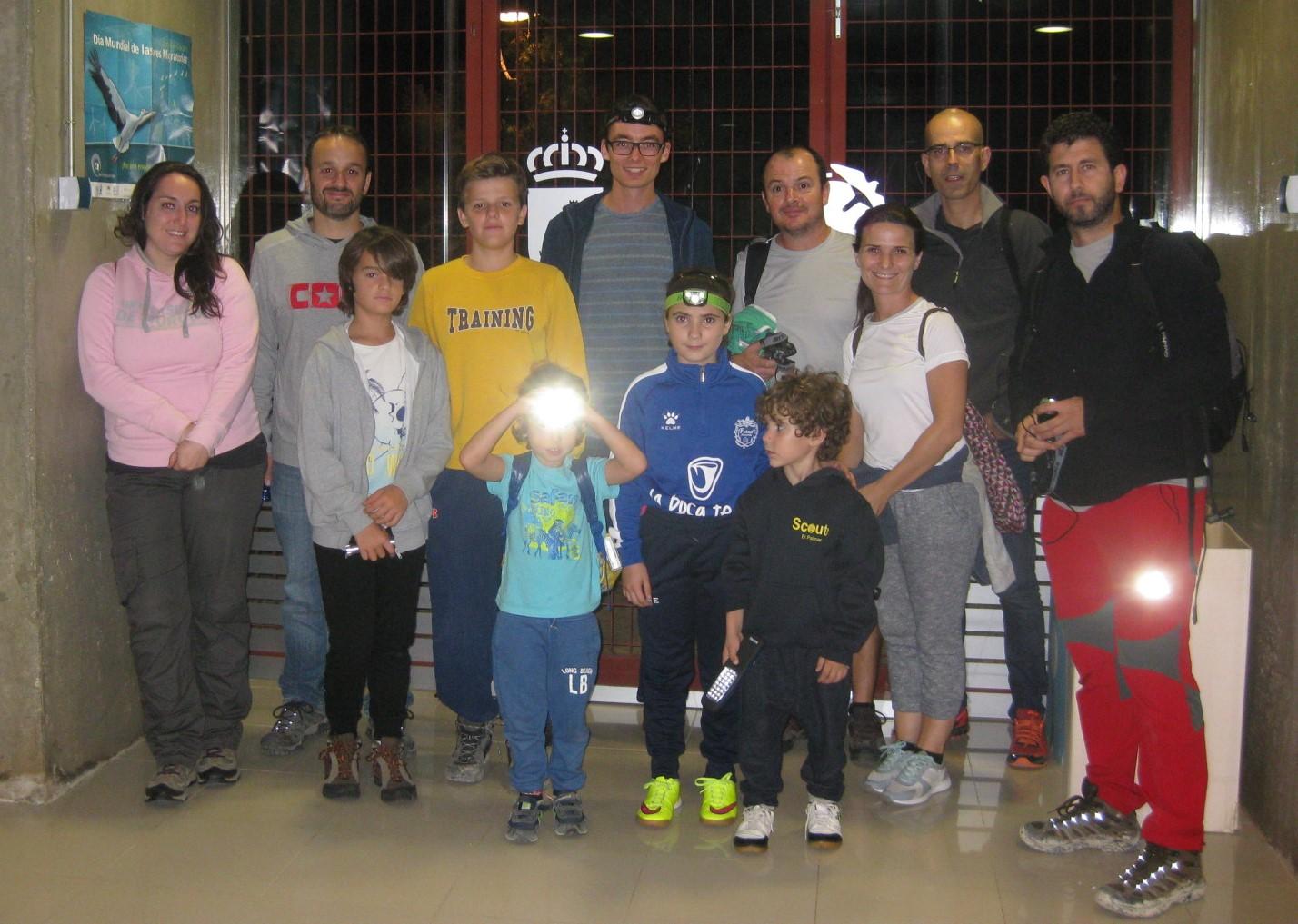 Voluntarios participantes en el censo nocturno de camaleones. Imagen: CARM