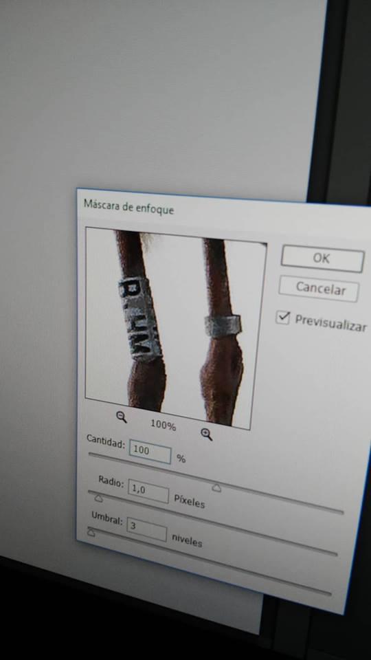 Detalle de la anilla. Imagen: Jesús Rodríguez