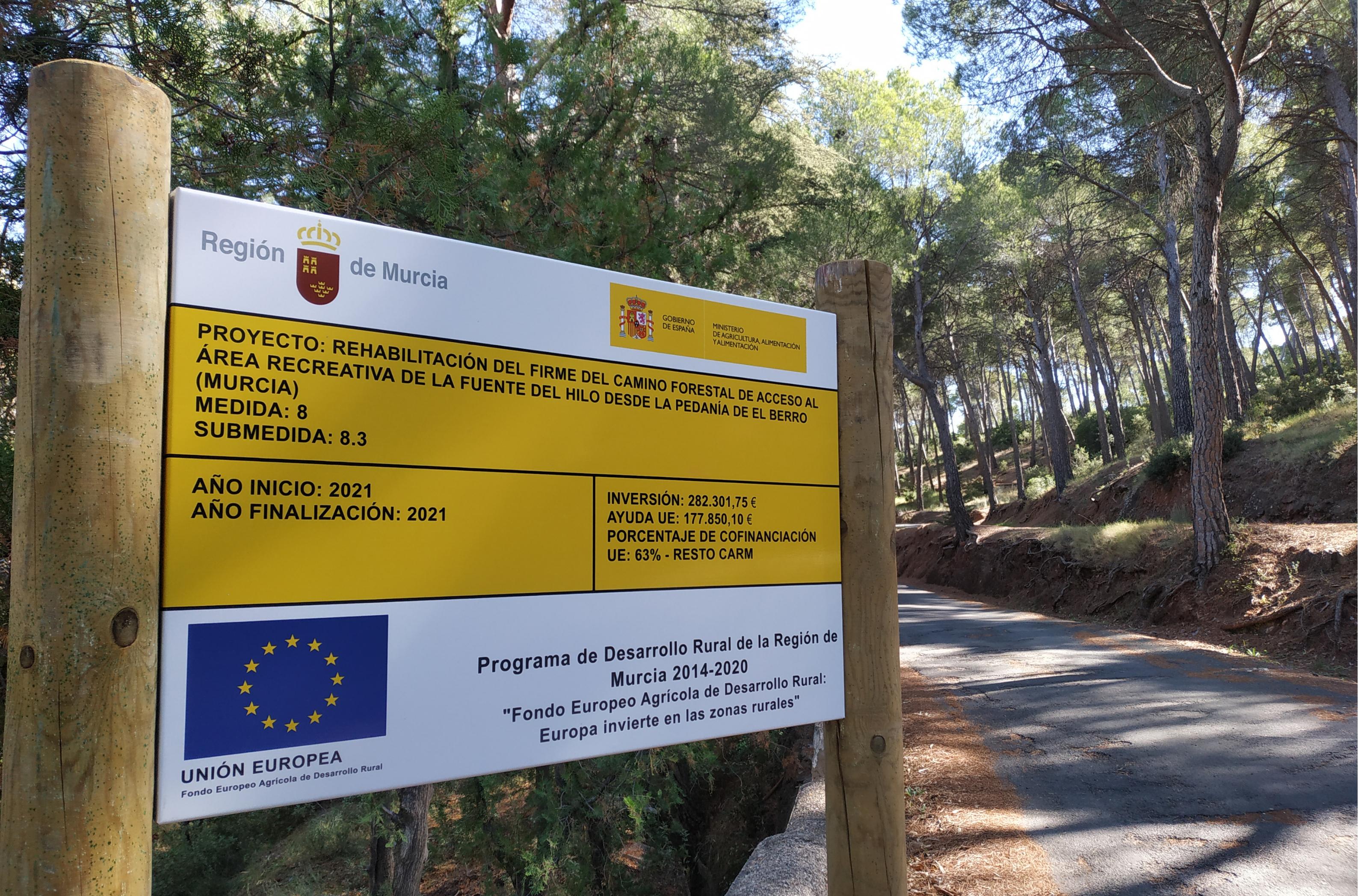 Imagen: Servicio de Información y Dinamización en la red de los Espacios Protegidos de la Región de Murcia
