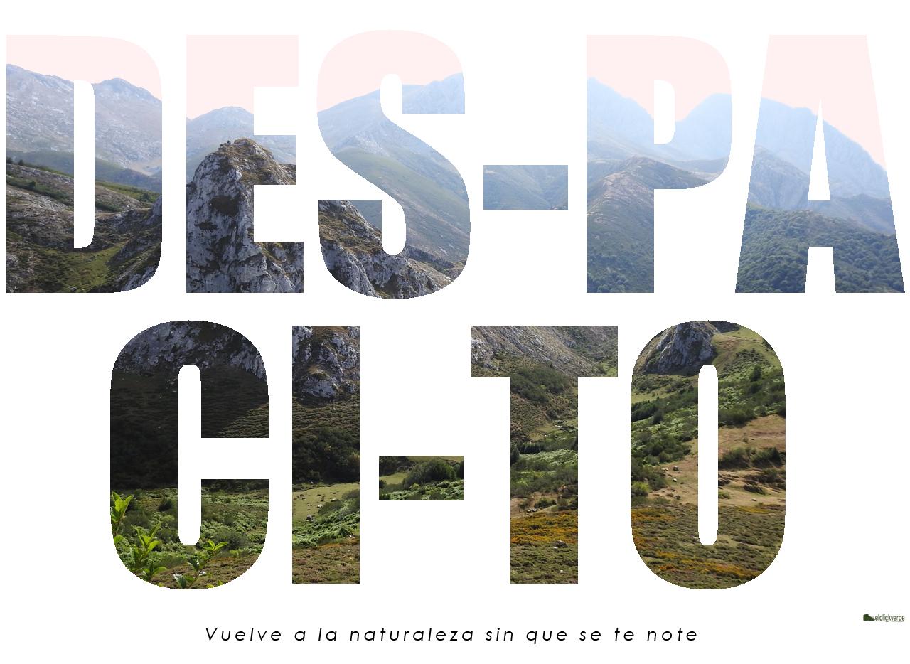 Campaña 'Vuelve despacito a la Naturaleza' 2. De libre uso
