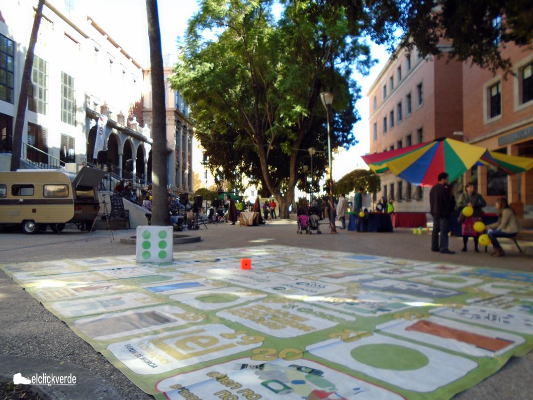 Imagen general de la plaza de La Merced.