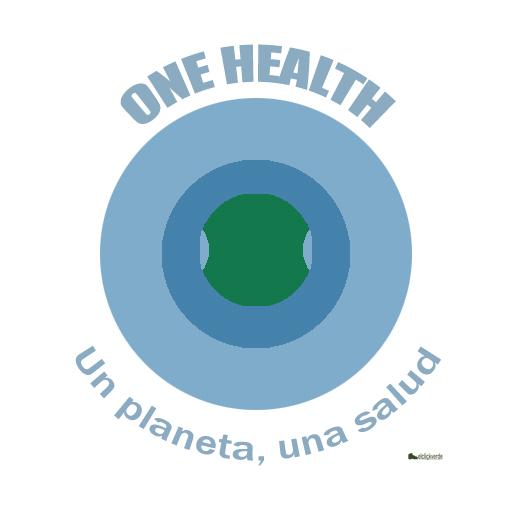 Logotipo One Health, de uso libre y gratuito