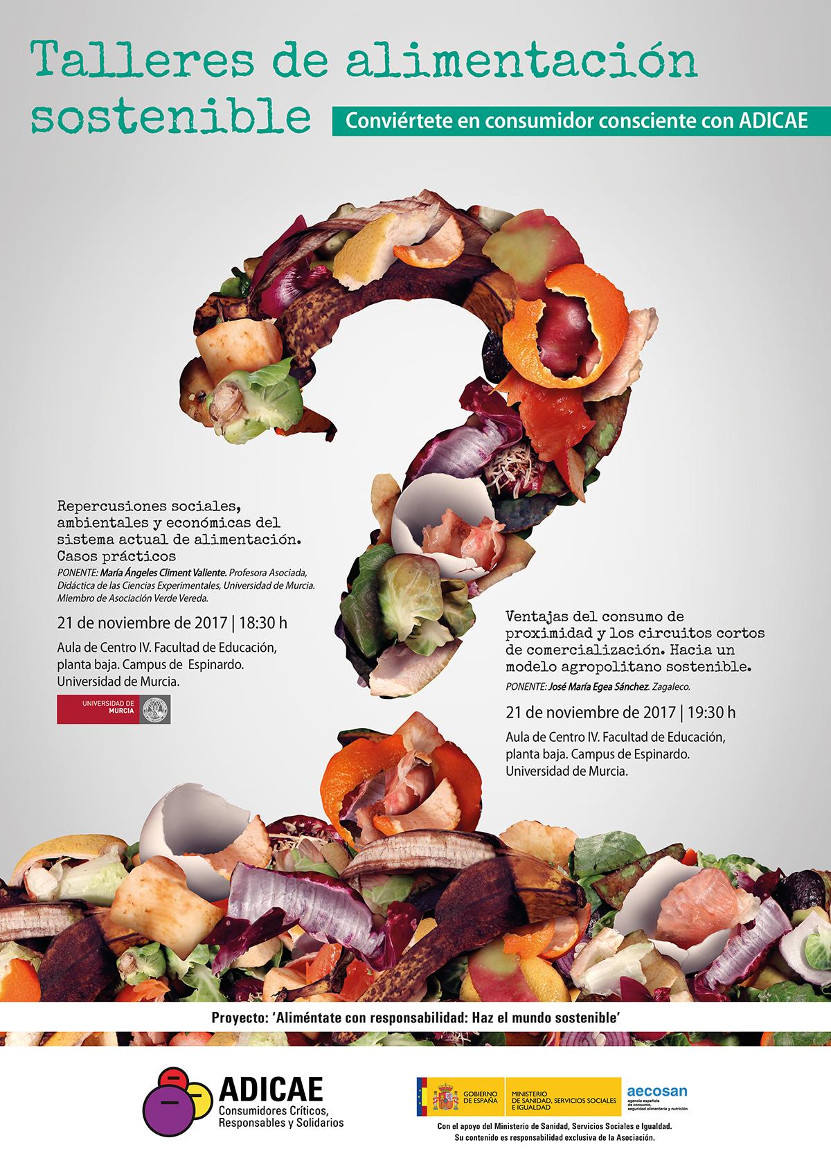 Talleres paralelos sobre Alimentación Sostenible, con Adicae