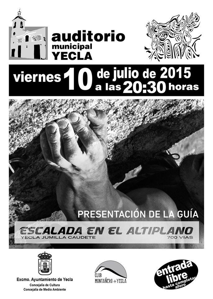 Presentación de la Guía de escalada del Altiplano