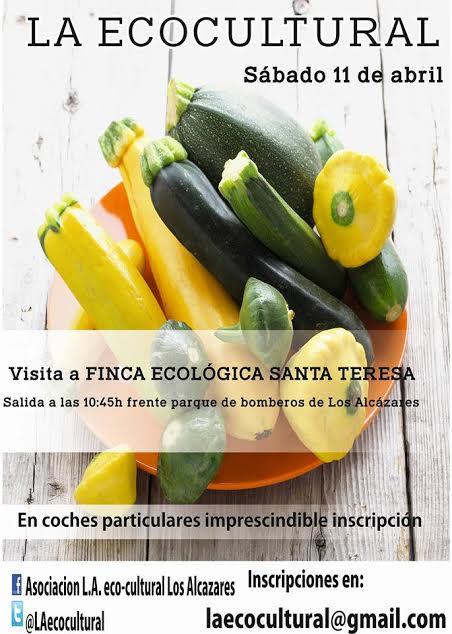 Visita a una finca de cultivo ecológico con LA Ecocultural