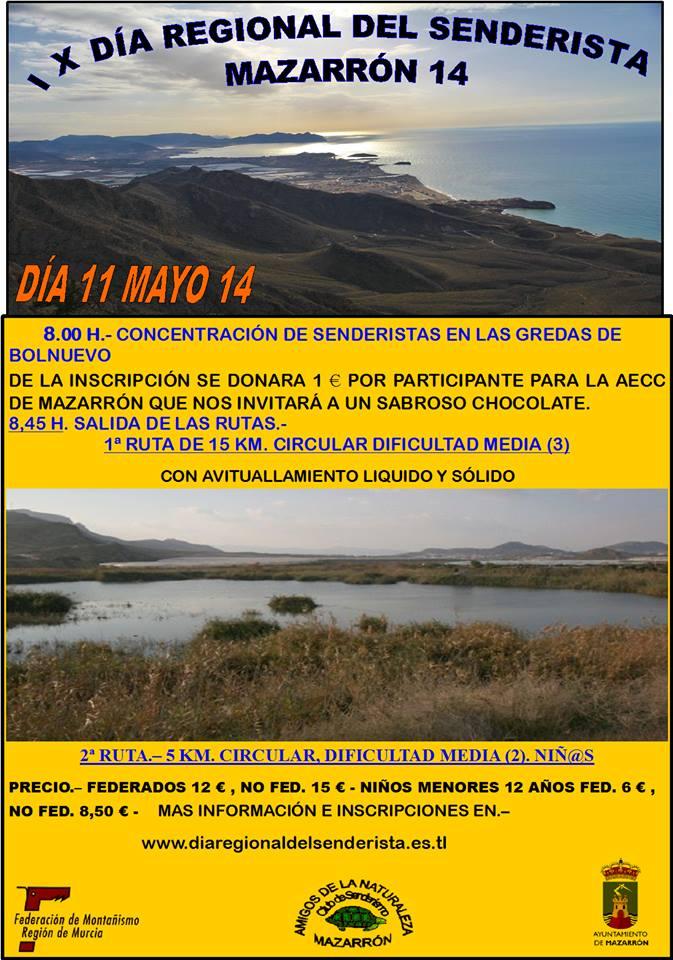 Día Regional del Senderista 2014