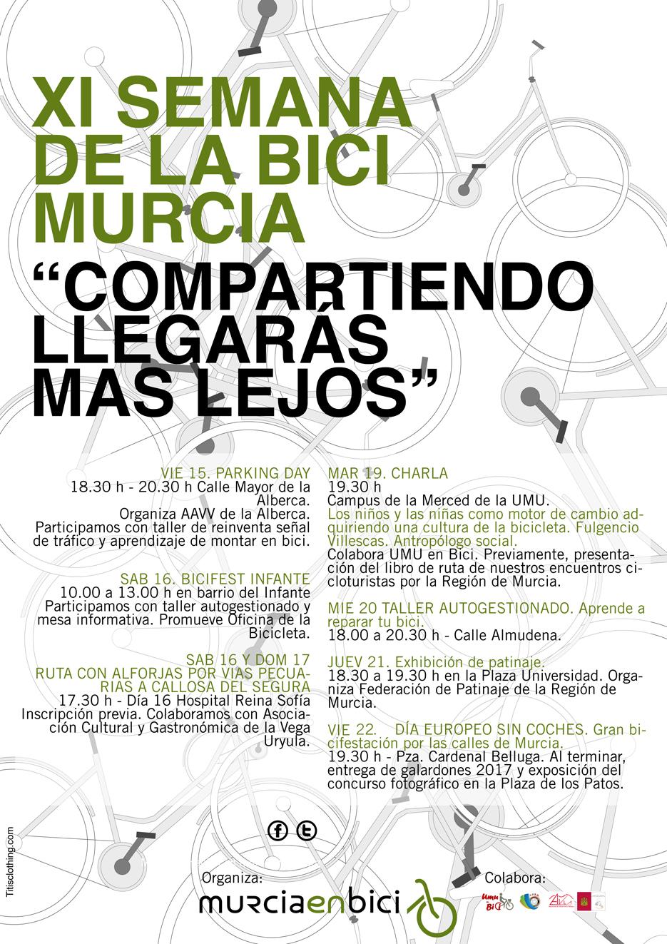 XI Semana de la Bici de Murcia en Bici