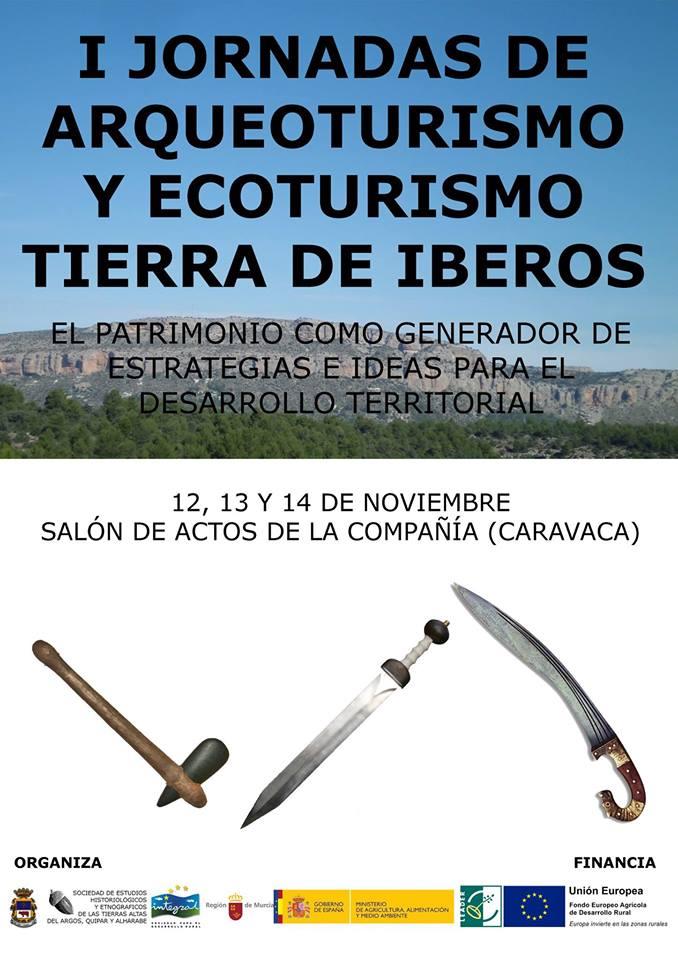 I Jornadas de Arqueoturismo y  Ecoturismo 'Tierra de Iberos'. Cartel