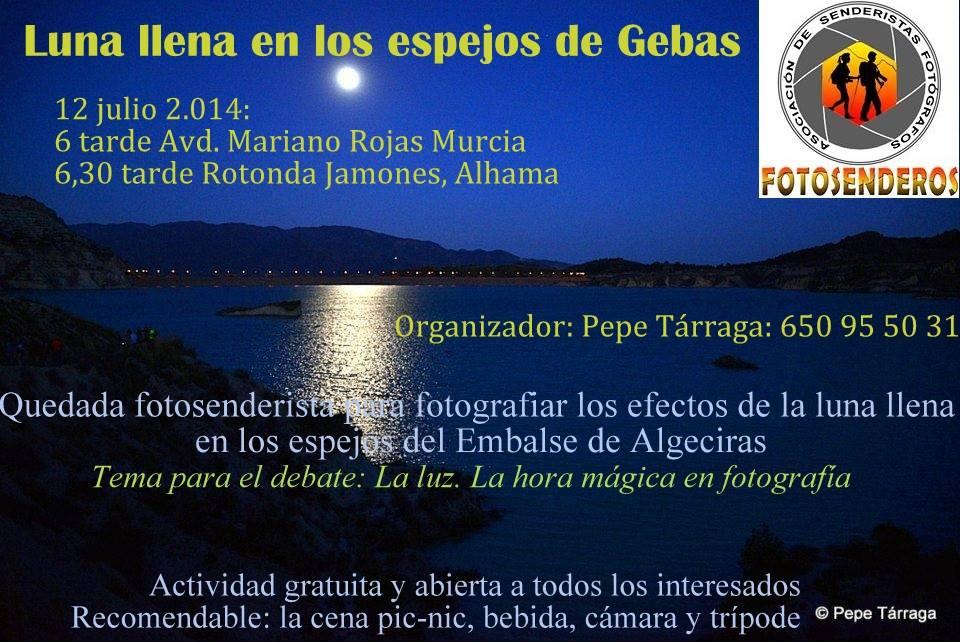 Salida al embalse de Algeciras, con Fotosenderos