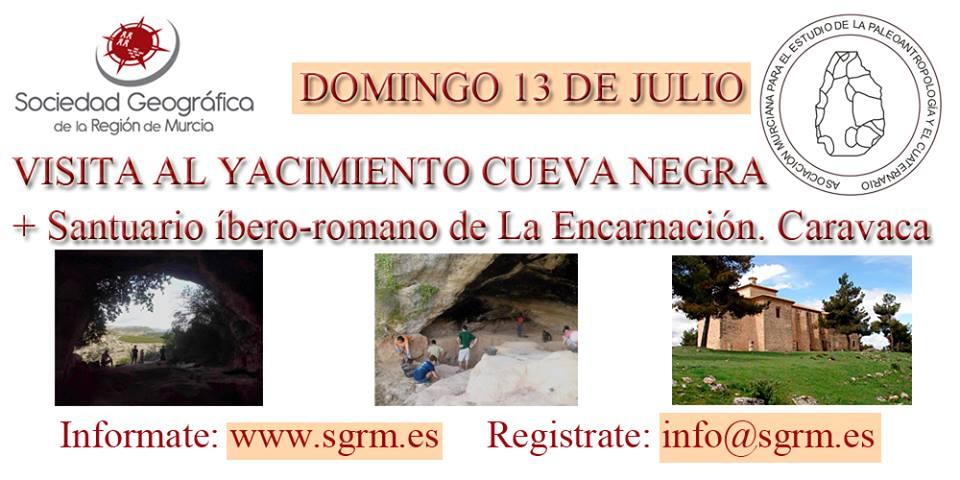 Visita a la Cueva Negra de Caravaca