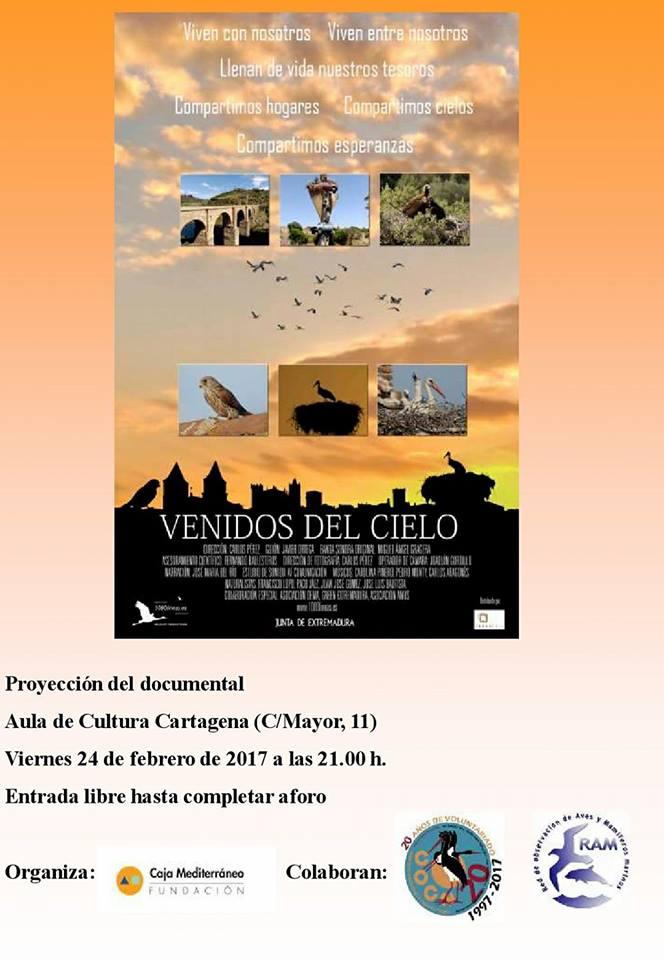 Documental 'Venidos del Cielo', con Caja Mediterráneo