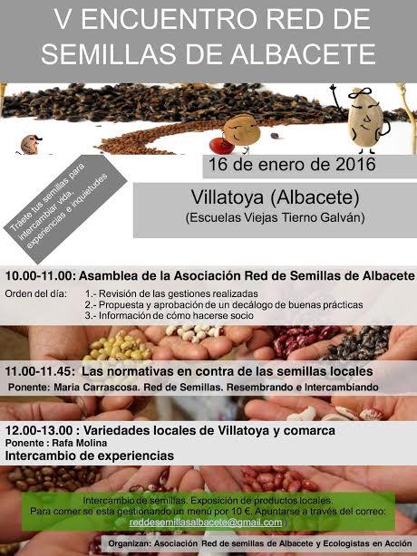 Encuentro Red de Semillas de Albacete.