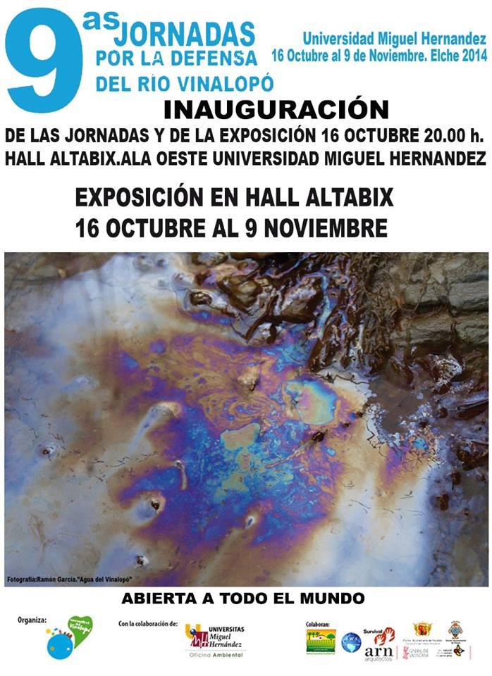 IX Jornadas por la Defensa del Rio Vinalopó