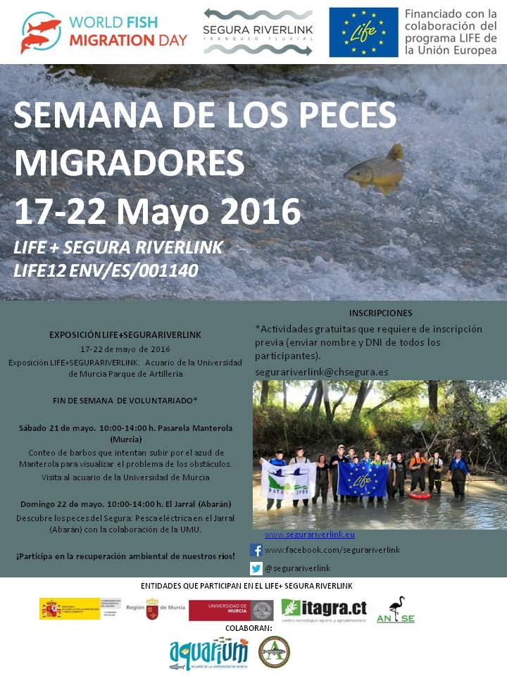 Semana de los Peces Migradores, con ANSE