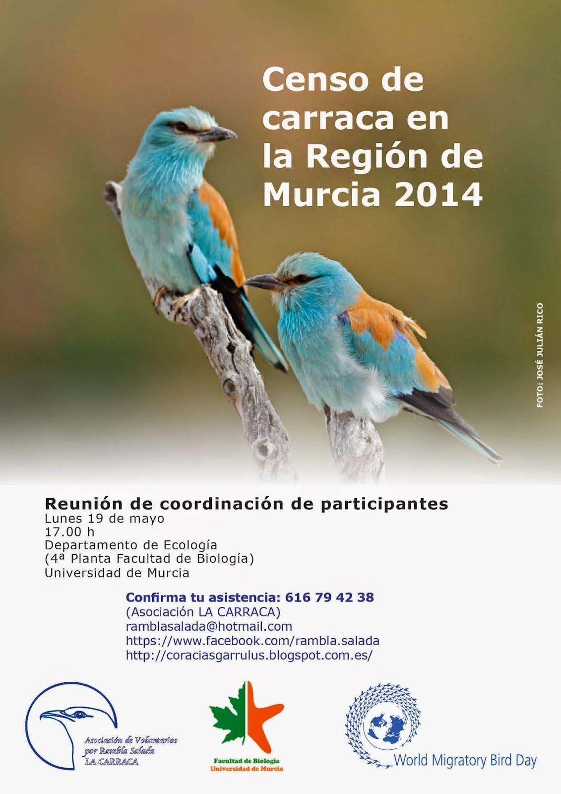 Reunión de participantes en el censo de la carraca