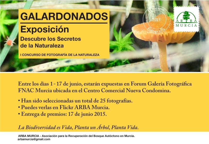 Exposición de fotografías de naturaleza de ARBA Murcia